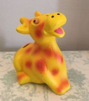 Giraffe ~ Children's Ceramic Animal Money Bank